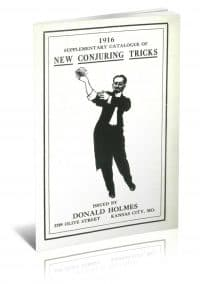 1916 Supplementary Catalogue of New Conjuring Tricks by Donald Holmes PDF