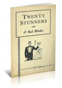 Twenty Stunners with a Nail Writer by Franklin M. Chapman, et al. PDF