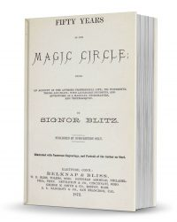 Fifty Years in the Magic Circle by Antonio Blitz PDF