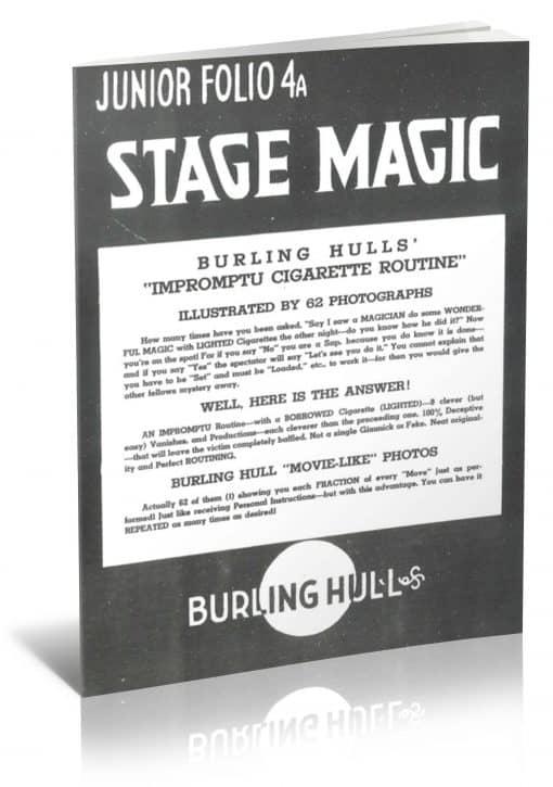 Cigarette Impromptu Routine by Burling Hull PDF