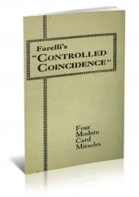 Controlled Coincidence: A New and Subtle System for Card Workers by Victor Farelli PDF