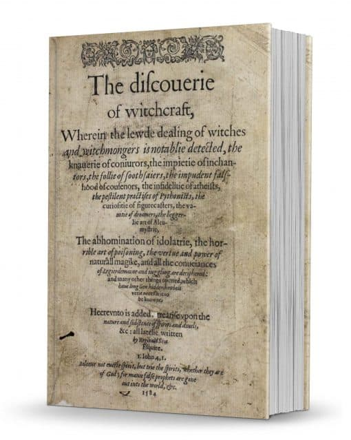 Discoverie of witchcraft 1886 Text Based PDF with bookmarks!
