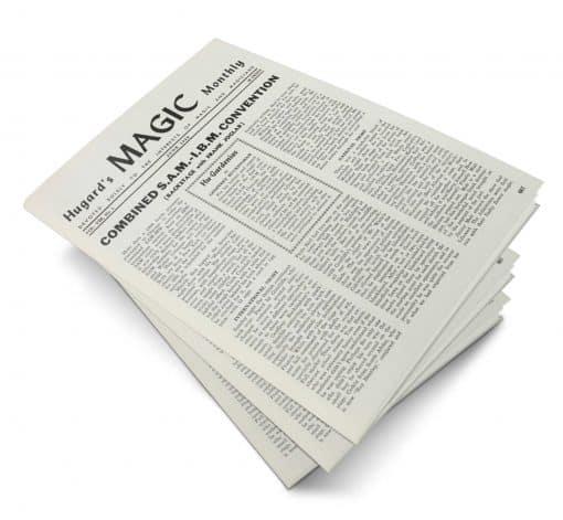 Hugard's Magic Monthly Volume 8 PDF