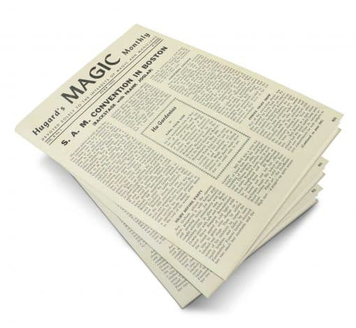 Hugard's Magic Monthly Volume 10 PDF