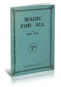 Magic for All by Bert Duce PDF