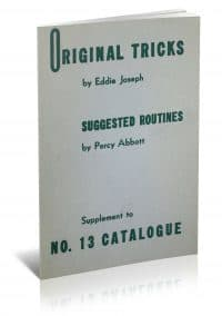 Original Tricks by Eddie Joseph and Suggested Routines by Percy Abbott PDF