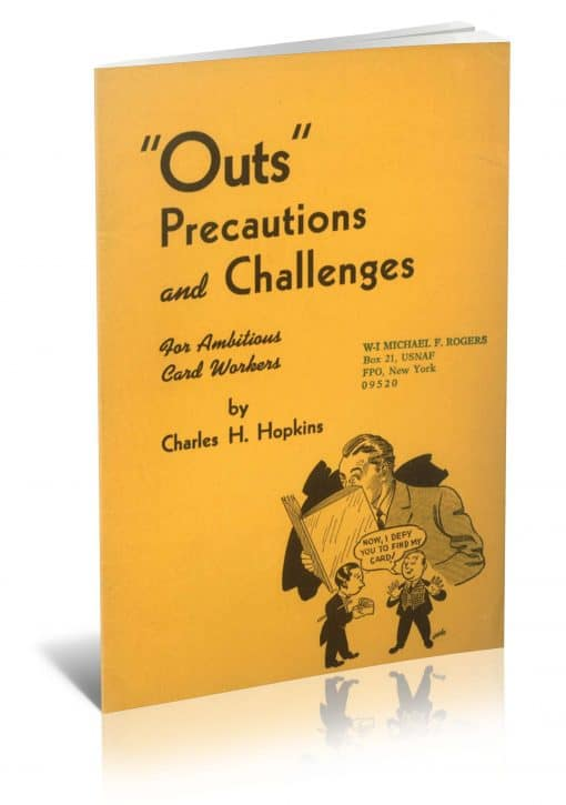 Outs: Precautions and Challenges for Ambitious Card Workers PDF