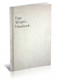 Page Wright's Notebook PDF