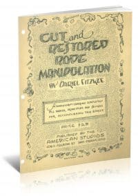 Cut and Restored Rope Manipulation by Dariel Fitzkee PDF