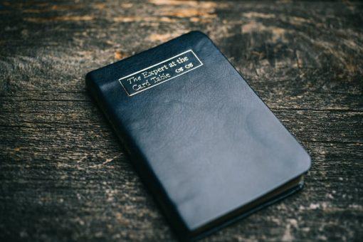 Erdnase Bible - Luxurious Black Blue