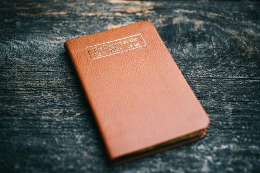 Erdnase Bible - Luxurious Orange Tan