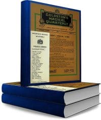 Goldston's Magical Quarterly