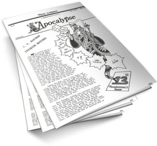 Apocalypse by Harry Lorayne Vol 13 PDF