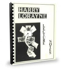 Lecture Notes by Harry Lorayne PDF