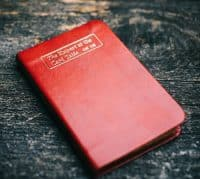 Erdnase Bible - Luxurious RED
