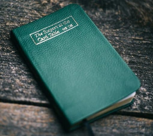 Erdnase Bible - Luxurious GREEN