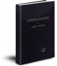 Afterthoughts by Harry Lorayne PDF