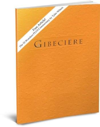 FREE Gibeciere Excerpt Article! The 52 Wonders